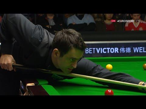 Embedded thumbnail for Ronnie O'Sullivan 131-es brékje a Welsh Openen